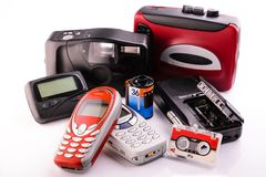 Obsolete items Stock Photos
