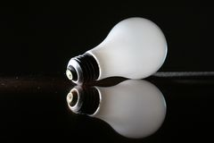 Obsolete lightbulb Stock Photography