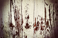 Obsolete painted planks Royalty Free Stock Photo