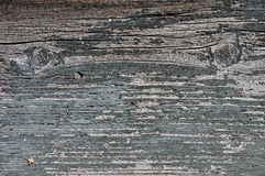 Obsolete painted wood. Obsolete weathered cracked grey painted wood background Stock Images