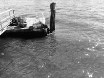 Obsolete pier Royalty Free Stock Photo
