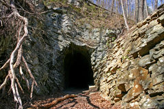 Obsolete Railroad Tunnel Royalty Free Stock Image