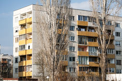 Obsolete residential building Stock Images