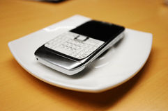 Obsolete smartphone Royalty Free Stock Photos