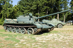 Obsolete Soviet Tanks Royalty Free Stock Images