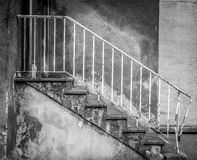 Obsolete stairs Stock Images