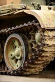Obsolete tank tracks Royalty Free Stock Photography