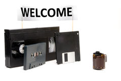 Obsolete Technology. A small collection of Obsolete Technology items Royalty Free Stock Photo