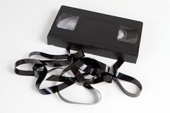 Obsolete Video Tape Cassette Stock Images