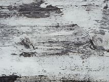 Obsolete white painted wood surface Stock Image