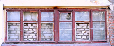 Obsolete window Stock Image