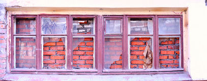 Obsolete window Stock Images