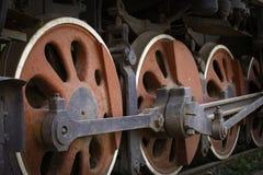 Obsoleted parowa lokomotywa Fotografia Stock