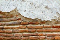 Obsoleted Stary ściana z cegieł obraz royalty free