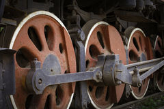 An obsoleted steam locomotive Stock Photography