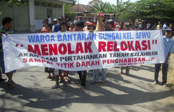 OBSTÁCULO DEMOCRÁTICO S DE INDONESIA fotos de archivo