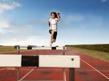 Obstáculos elevados Foto de Stock
