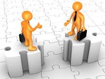 Obstáculos no acordo Imagem de Stock