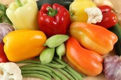 Obst und Gemüse Stockbild