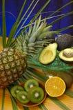 Obst und Gemüse compostions Lizenzfreies Stockfoto