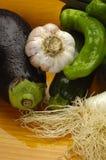 Obst und Gemüse compostions Stockfotografie