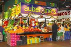Obst und Gemüse im zentralen Markt, Adelaide Stockbild
