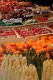 Obst- und Gemüse Markt stockbild