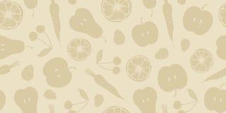 Obst- und Gemüse Muster Lizenzfreie Stockfotos