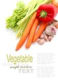 Obst und Gemüse und Bestandteile Stockfotos
