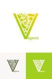 Obst und Gemüse Zeichen Lizenzfreies Stockfoto