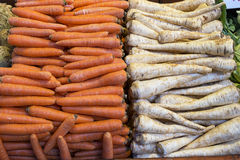 Am Obst-und Gemüsehändler Stockfotografie