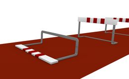 Obstacle Stock Image