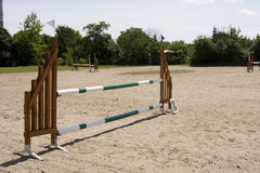 Obstacle. An obstacle at a show jumping contest Stock Photography
