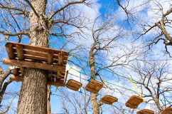 Obstacle course for training Royalty Free Stock Photo