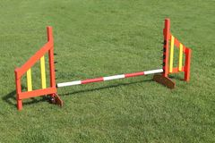 Obstacle de saut photos stock