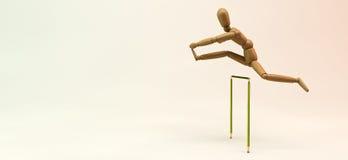 Obstacles de mannequin Photo stock