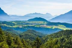 Obsteig in Sonnenplateau, Austria Fotografia Stock Libera da Diritti