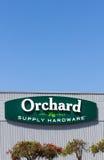 Obstgarten-Versorgungs-Hardware-Äußeres Lizenzfreies Stockfoto
