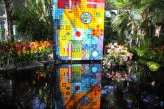 Obstgarten-zeigen im New- Yorkbotanischen Garten Lizenzfreie Stockbilder