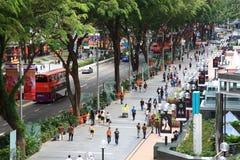 Obstgartenstraße Lizenzfreies Stockfoto