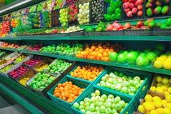 Obstmarkt Stockfotos