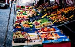 Obstmarkt Stockfotografie