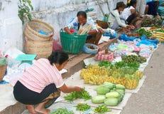 Obstmarkt in Asien lizenzfreies stockbild
