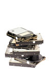 Obstole hard drives Royalty Free Stock Images