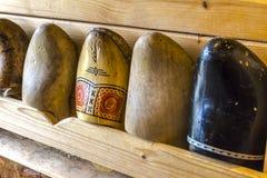 Obstruções de madeira na Holanda Imagem de Stock