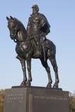 Obstructie voer het Monument van Jackson, Manassas, Virginia Stock Afbeeldingen