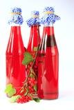 Obstwein gebildet von den roten Johannisbeeren Lizenzfreie Stockbilder