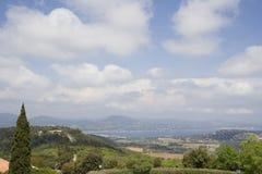 obszarów wiejskich morza śródziemnego Zdjęcie Stock