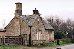 obszarów wiejskich w domku kamień Obraz Royalty Free