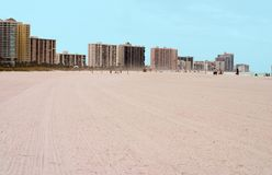 obszar Florydę na plaży Tampa Obraz Stock